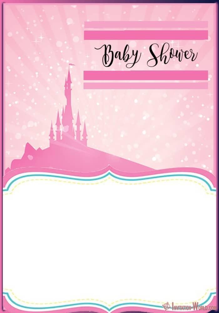 Printable Baby Shower Template 150x150 - Little Princess Shower Invitation