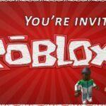 Roblox Invitation Design
