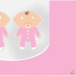 Twins Baby Shower Free Template