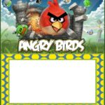 Angry Birds Invitation Template