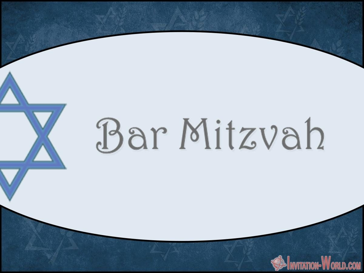 Bar Mitzvah Template 1200x900 - Bar Mitzvah Invitation Templates - Easy to customize