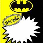 Custom Batman Invitation Template