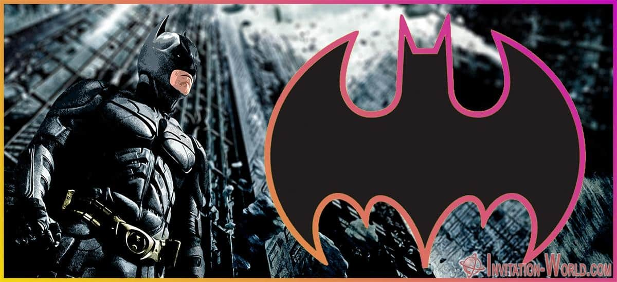 Editable Batman Invitation - Editable Batman Invitation