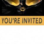 Free Printable Batman Invitation Template 150x150 - Free Printable Lego Batman Invitation