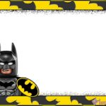 Printable Lego Batman Party Invitation