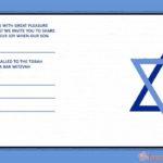 Unique Bar Mitzvah invitation