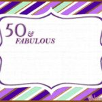 50 fabulous birthday invitation free