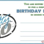 50th Birthday Invitation Card