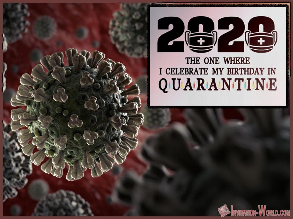 Funny Coronavirus Template Card - Coronavirus Digital Invitation Templates
