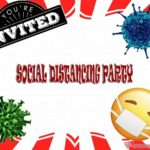 Social distancing party invitation 150x150 - Virtual Coronavirus Party Invite
